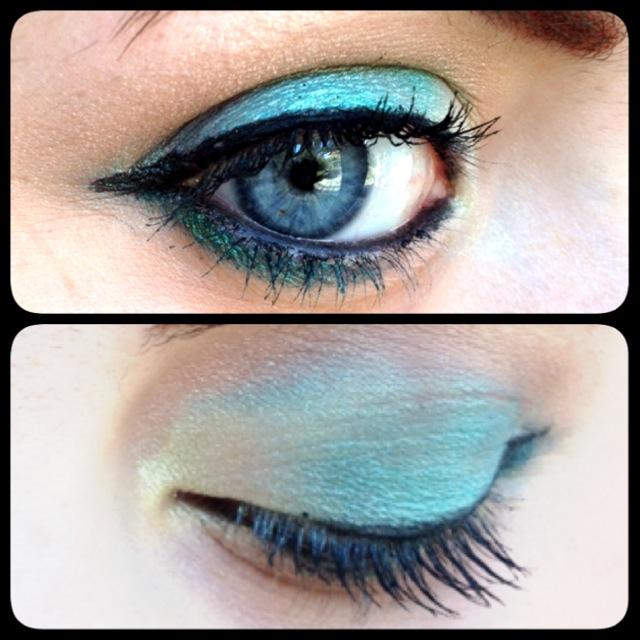 green make up
