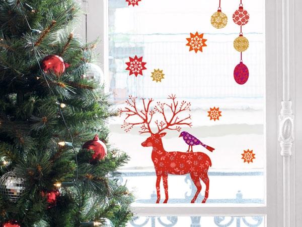 Come addobbare la casa per natale chiccherie - Decorazioni natalizie finestre ...
