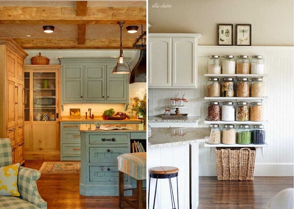 Come arredare la cucina in stile country for Arredare la cucina