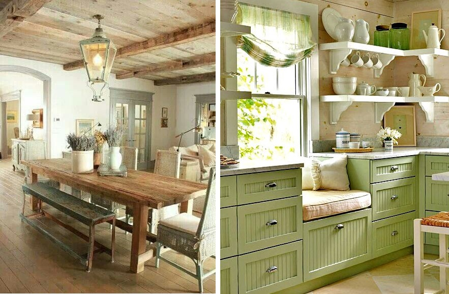 Come arredare la cucina in stile country | Chiccherie.net