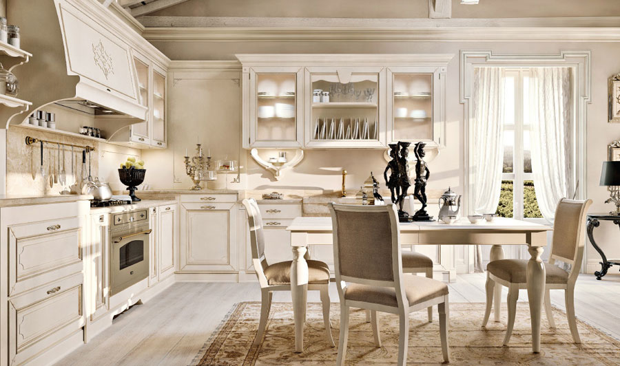 Lavanda e ispirazione francese per una casa in stile for Ufficio di campagna francese